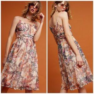 New Anthropologie Maeve Floral Mackenzie Dress